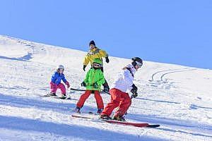 Skifahren im Skigebiet Reinswald